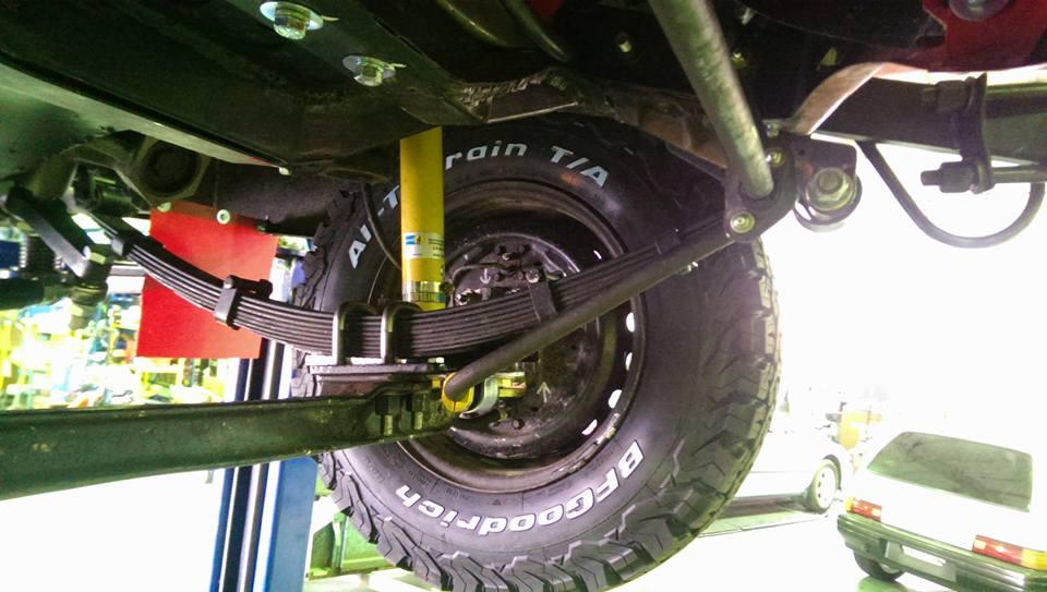 Capital Steering Leaf Spring Upgrades